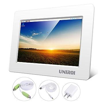 KINCREA UNIROI - Pantalla LCD HD de 7 Pulgadas para ...