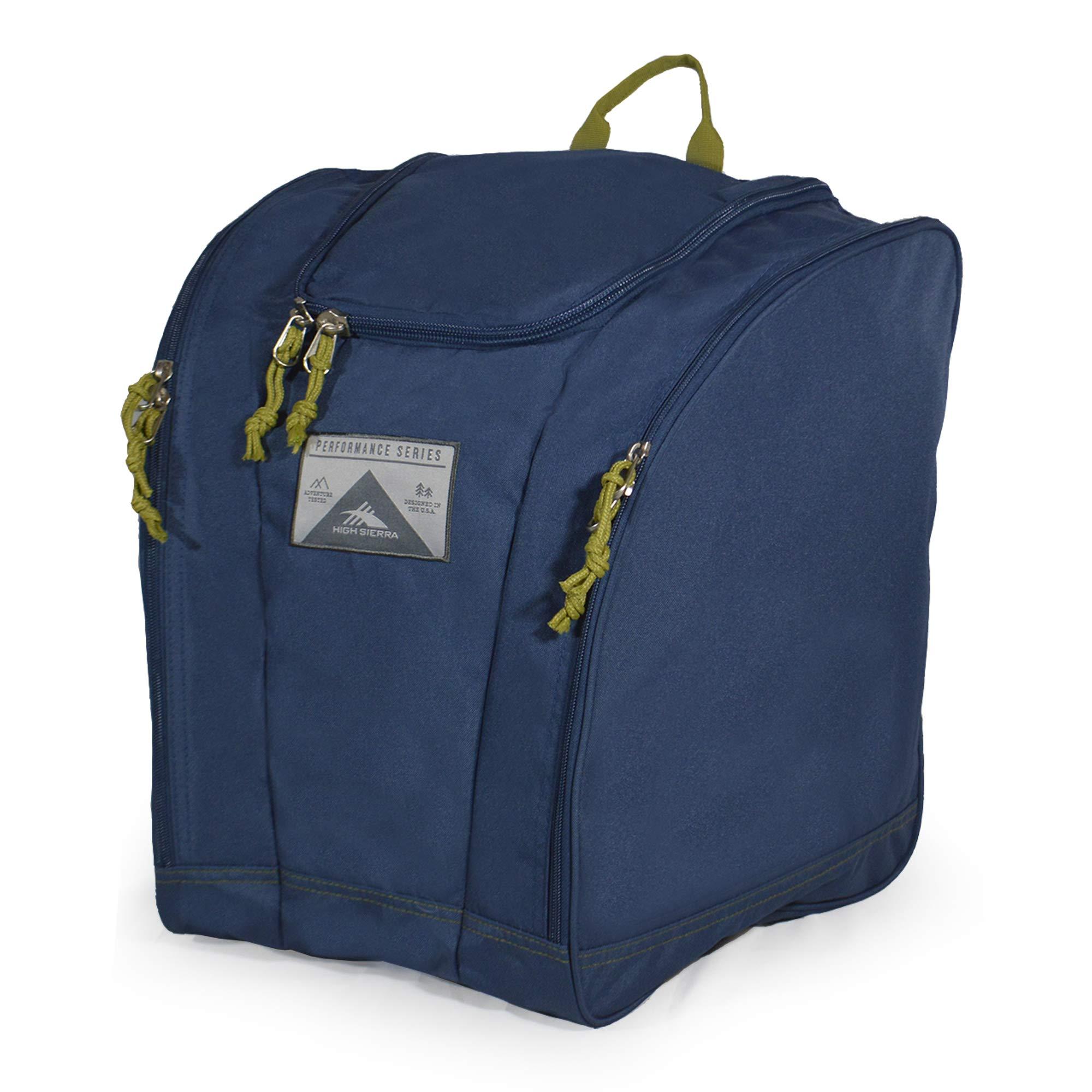 High Sierra Trapezoid Boot Bag Flower Daze/Deep Purple by High Sierra