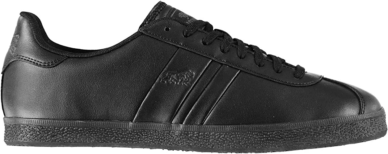Lonsdale Mens Tufnell Trainers Black