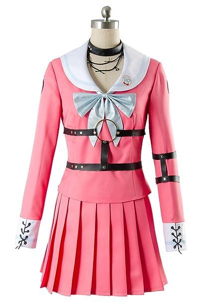 Amazon.com  UU-Style Danganronpa V3 Killing Harmony MIU Iruma Uniform Suit Outfit  Cosplay Costume  Clothing bb0b5d5aa28e