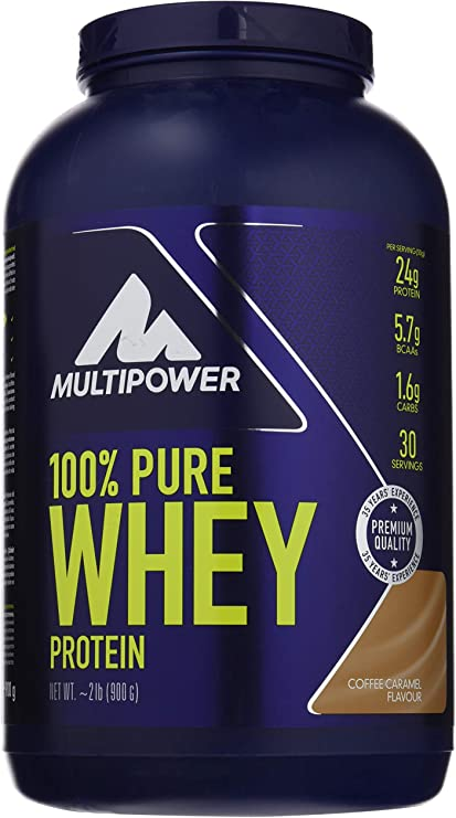Multipower 100% Whey Protein Coffee Caramel - 900 gr