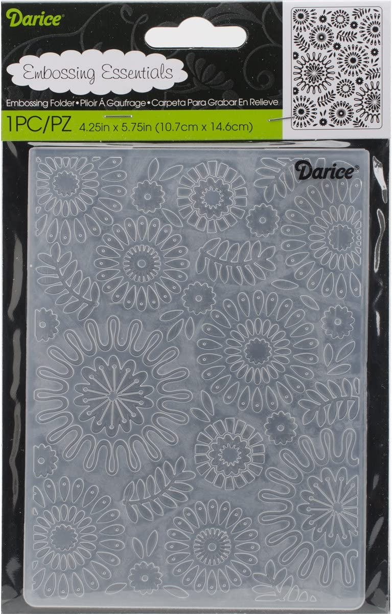 4.25 x 5.75 Plaid Darice Embossing Folder