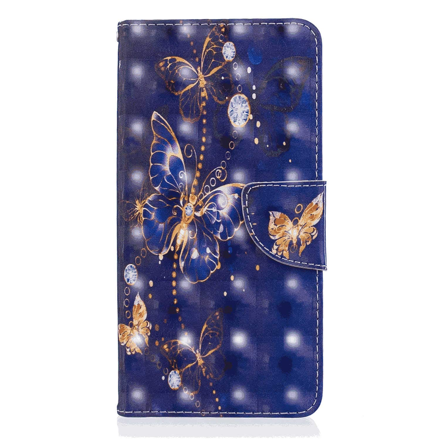 Samsung Galaxy S9 Plus Flip Case Cover for Samsung Galaxy S9 Plus Leather Mobile Phone case Kickstand Extra-Protective Business Card Holders with Free Waterproof-Bag Judicious
