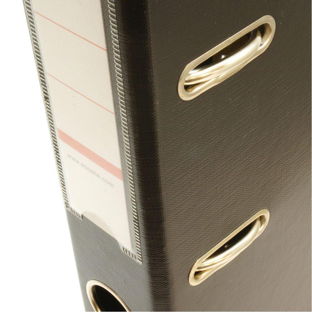 Esselte archivador 40ST rojo, espesor de 2 agujeros, palanca, lomo, A4 tamaño correspondencia, 52 mm de espesor, aproximadamente 350 piezas de RD5670 ...