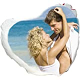 Cuscino a cuore personalizzato con foto 40x40 cm
