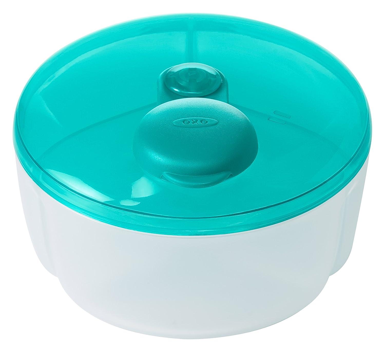 OXO Tot No-Spill Formula Dispenser with Swivel Lid - Aqua 61132400