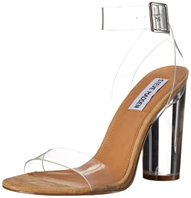 10e5b88de01 Steve Madden Women s Clearer Clear Dress Open ...