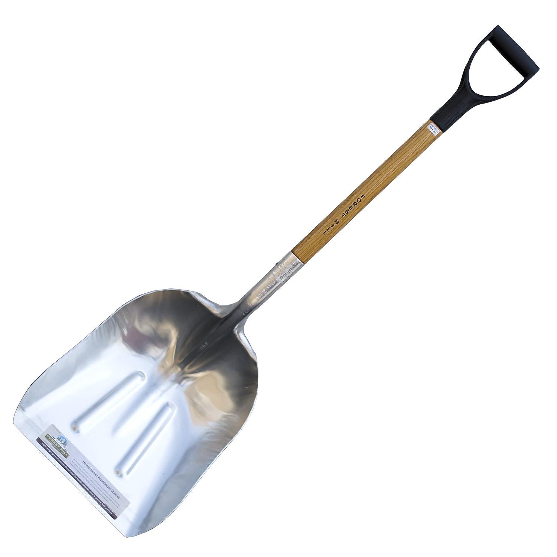 FOREST HILL Manufacturing Homeowner Aluminum Scoop Shovel best steel scoop shovel