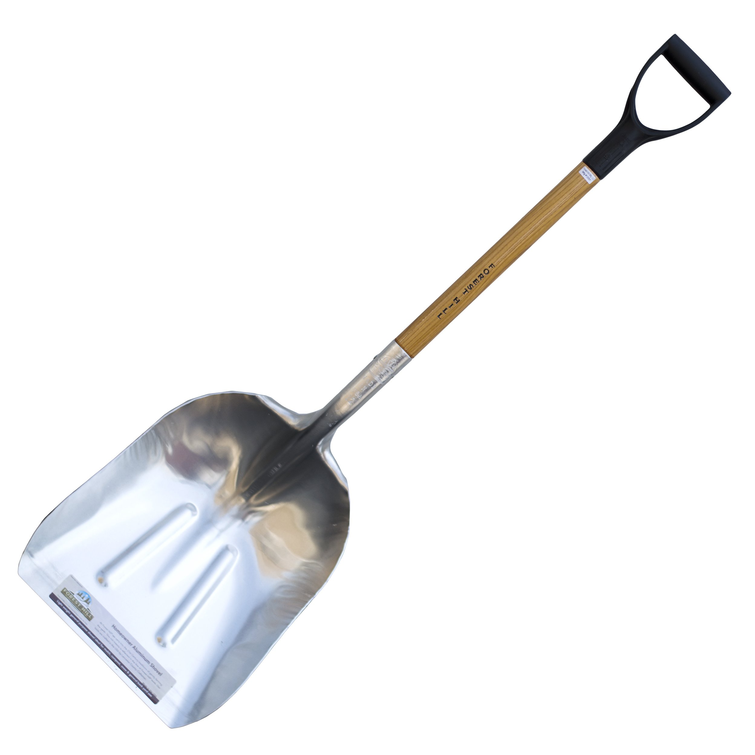 FOREST HILL Manufacturing Homeowner Aluminum Scoop Shovel (48-Inch) by FOREST HILL