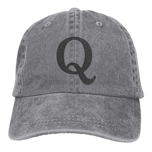 Q Anon Embroidery Low Profile Plain Baseball Cap Dad Trucker Cap At