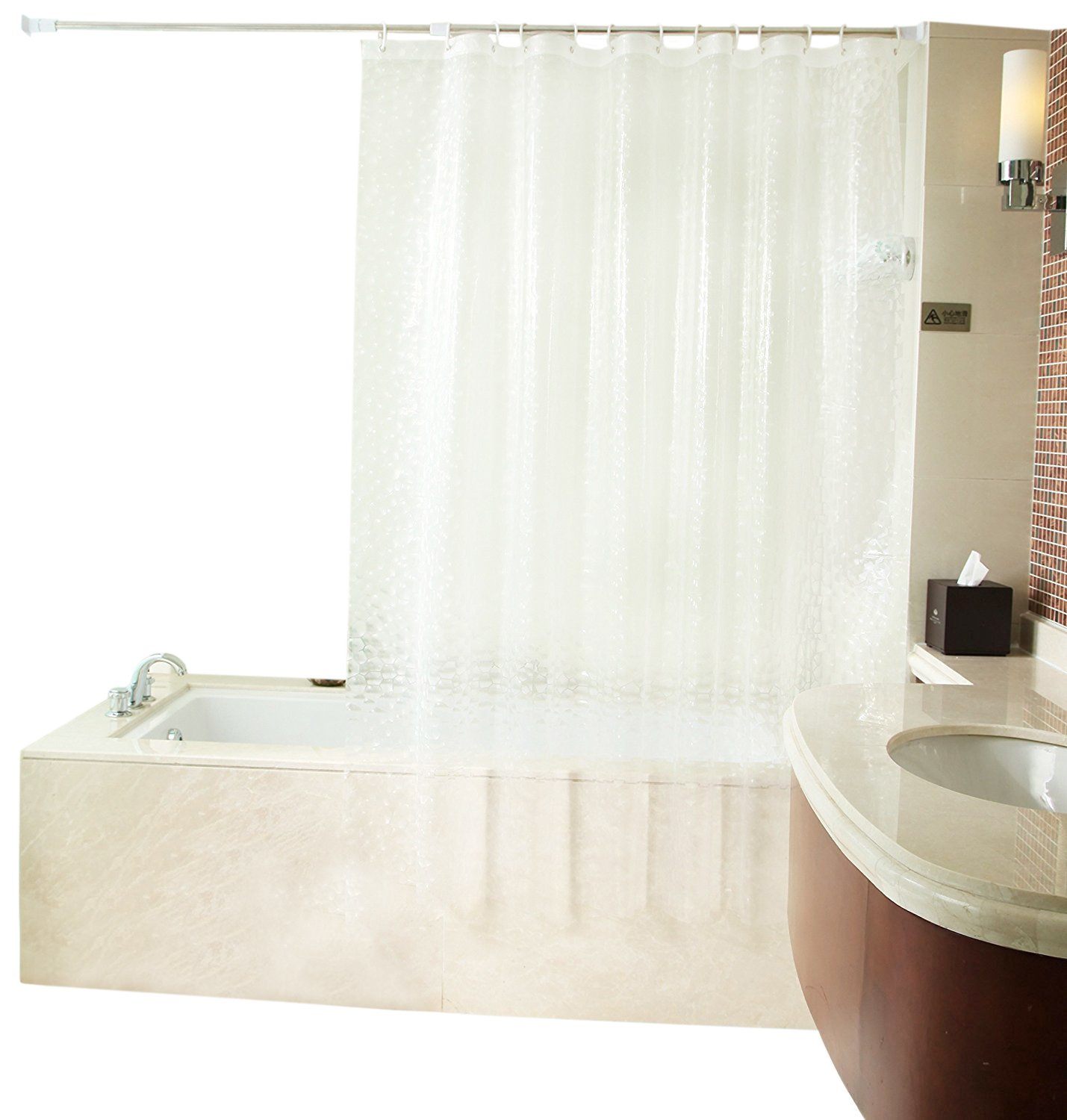 30OFF No More Mildew Shower Curtain Liner Or Free Water