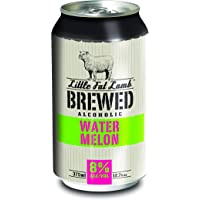 Little Fat Lamb Brewed Watermelon 375ml Cans - 10 Pack