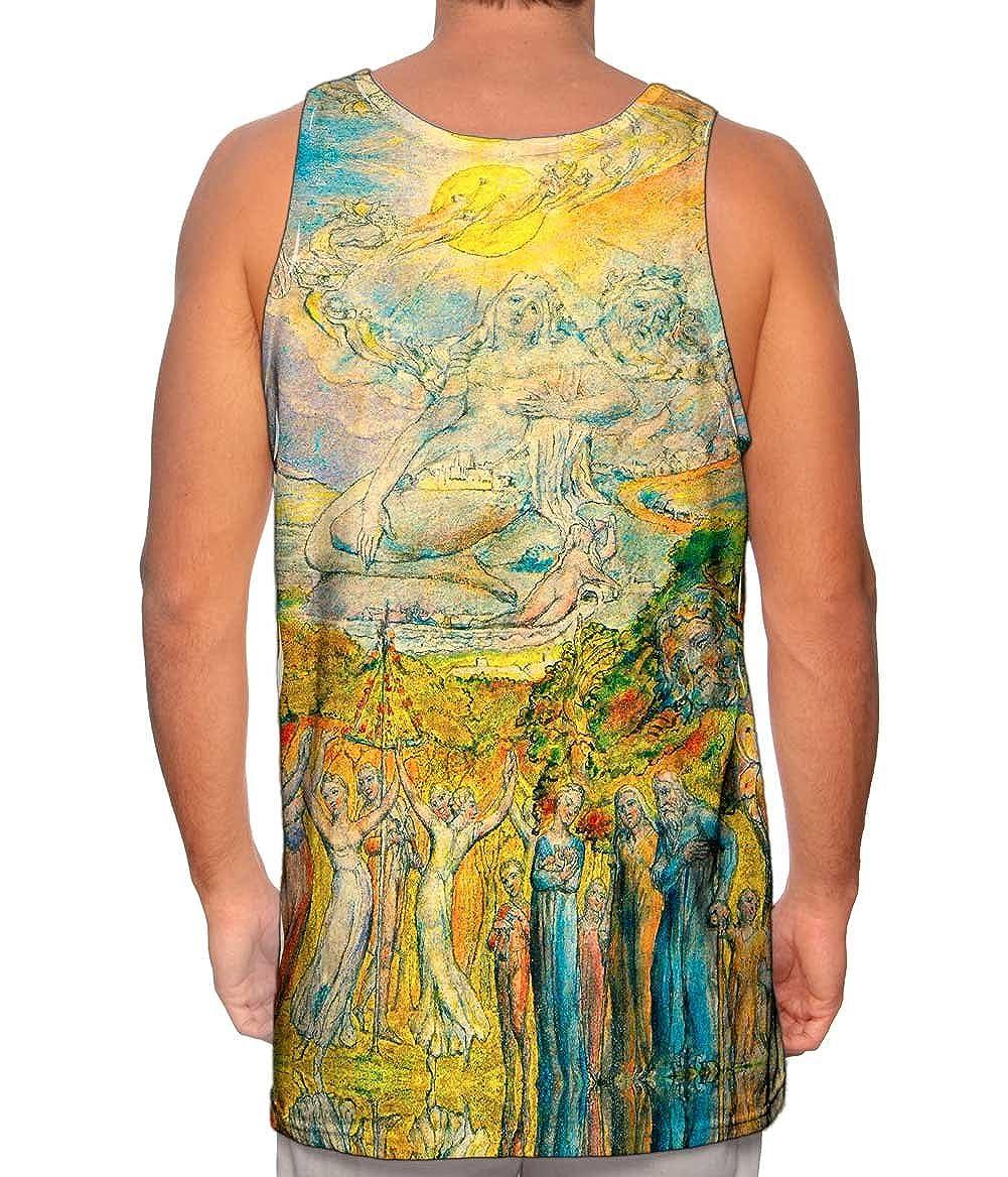 A Sunshine Holiday -Tshirt- Mens Tank Top 1820 Yizzam- William Blake