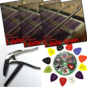 3 Sets Xtreme Performance cuerdas para guitarra eléctrica 9 – 42 Níquel Wound Super Light +