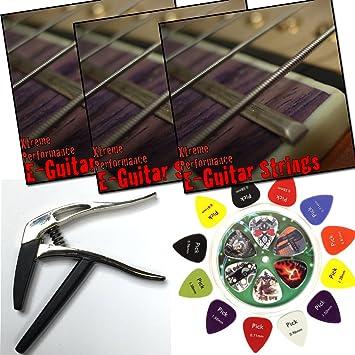 3 Sets Xtreme Performance cuerdas para guitarra eléctrica 9 – 42 Níquel Wound Super Light +