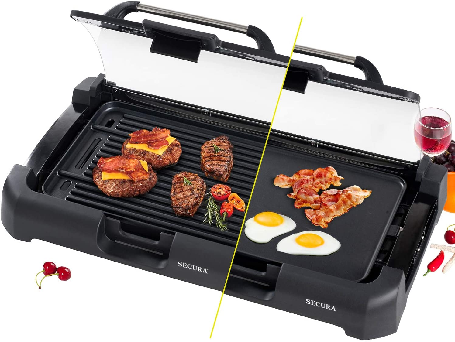 The Secura Smokeless Indoor Grill Electric Griddle Review