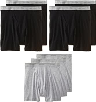 """Burgundy Medium 32-34/"""" Fruit of the Loom pack of 3 Boxer Briefs Tag Free Grays"""