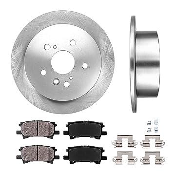 Amazon.com: Trasera 288 mm Premium rotores Oe Discos de ...