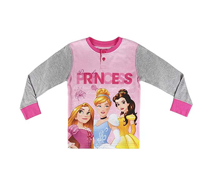 22-2291 Pijama de invierno para niña motivo PRINCESA DISNEY talla de 2 a 6