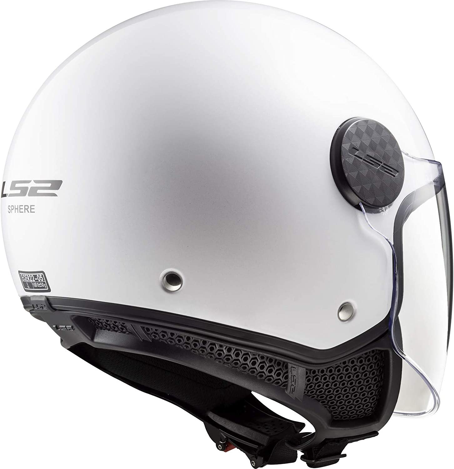 LS2 casque jet Sphere blanc Taille S