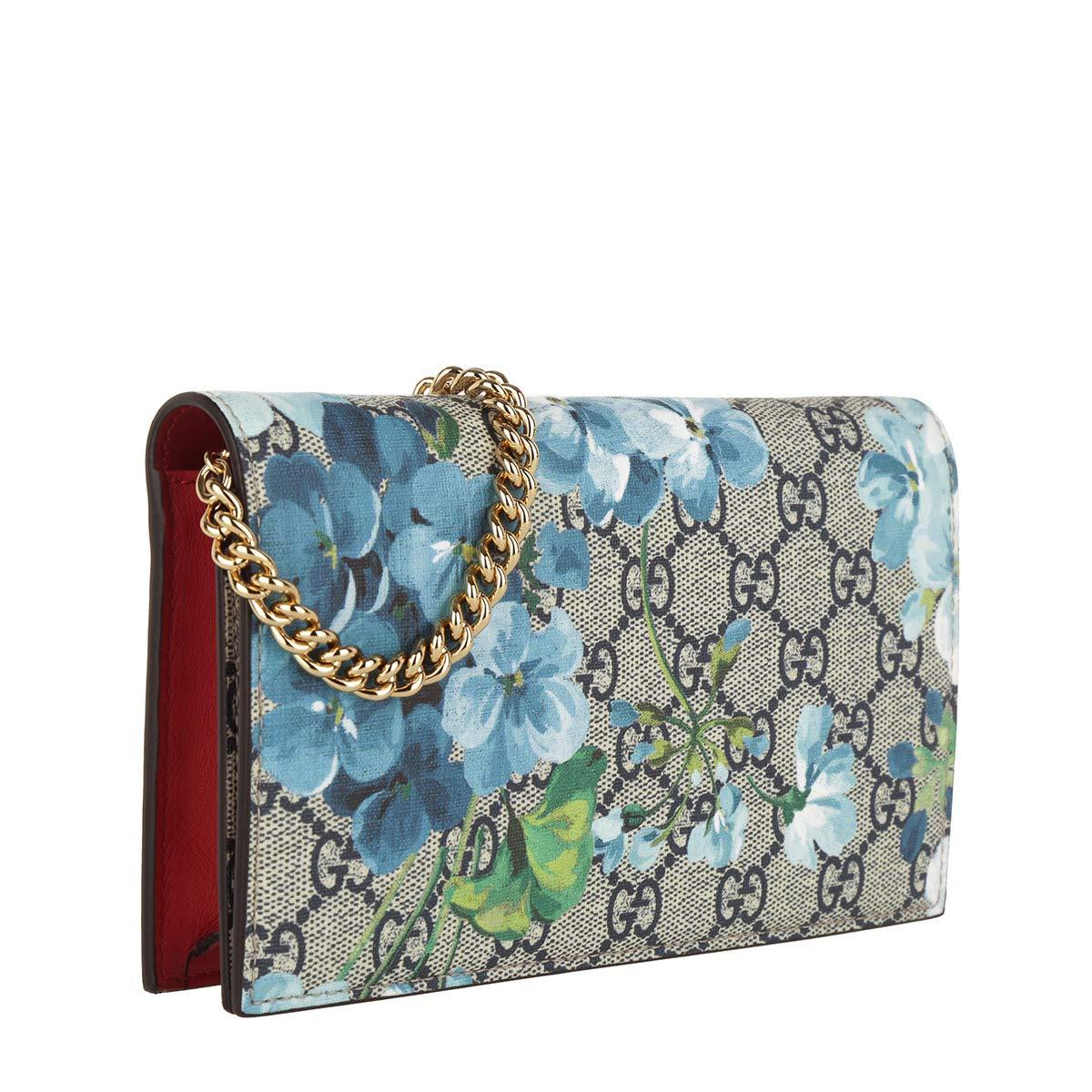 41e535ece5 Amazon.com: GUCCI Handbag BAMBOO DAILY SMALL BLOOMS Red Leather Bag ...