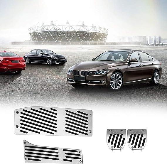 sdfghzsedfgsdfg 4 PC Acelerador del Pedal del Freno Set para BMW Serie Shift palillo de Coches Accesorios para automóviles Embrague del Recorte Kit de Pedal ...