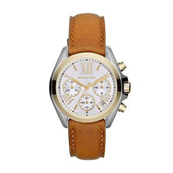 271853260a24 Image Unavailable. Image not available for. Color  Michael Kors Two-Tone  Bradshaw Mini Watch