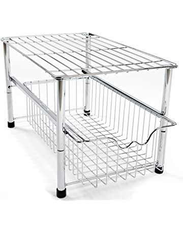 Prime Under Sink Storage Home Kitchen Amazon Co Uk Home Interior And Landscaping Eliaenasavecom