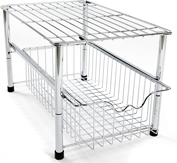 Amtido - Organizador de armario apilable para poner debajo del ...
