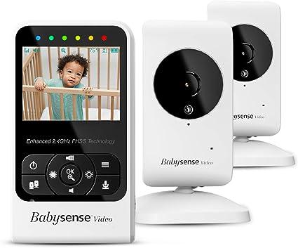 """écran 4.3/""""LCD Two-way audio Moniteur Bébé Vidéo avec l/'appareil photo et audio"""