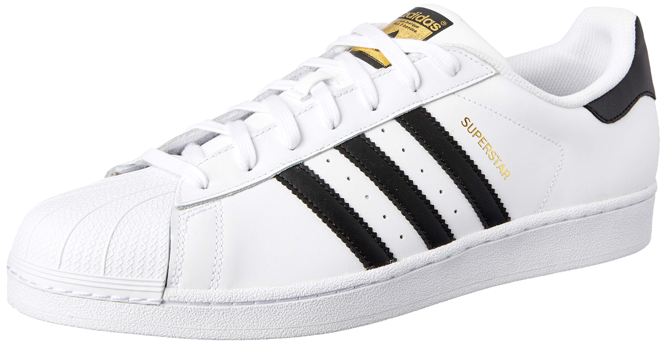 adidas Originals Men's Superstar Casual Sneaker, White/Core Black/White, 8.5 M US by adidas Originals