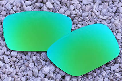 IKON Polarized Replacement Lenses for Costa Del Mar Blackfin Sunglasses Emerald Green Mirror