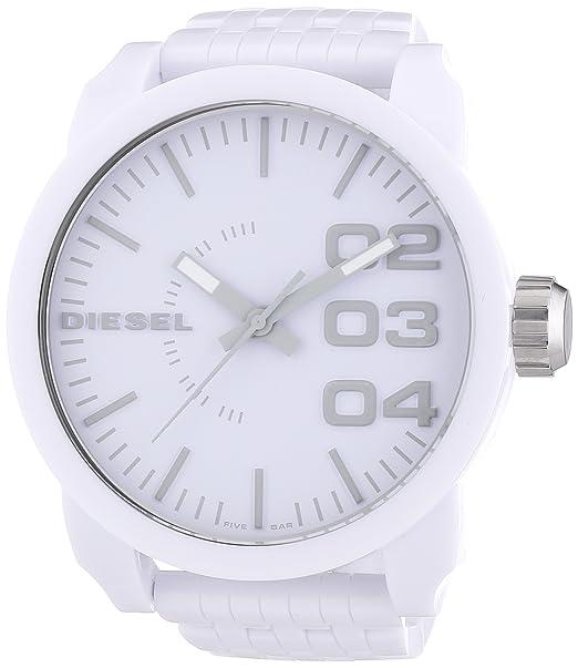 4e4ed119689b Diesel DZ1461 - Reloj analógico de cuarzo para hombre con correa de  plástico