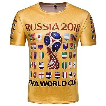 Beito Camiseta de fútbol, Copa del Mundo 2018, diseño de fútbol, manga corta