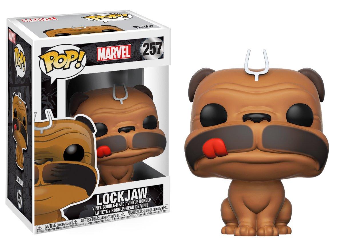 Aufstellfiguren Inhumans Pop Figuren Marvel Vinyl Bobble-head Lockjaw