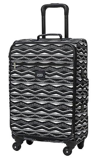 5c71eb00359c Amazon.com | Victoria's Secret Pink Aztec Carry-on Luggage Spinner ...