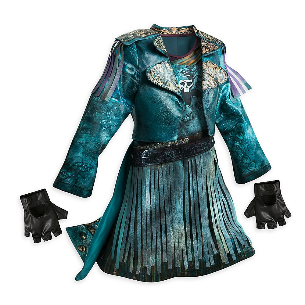 Disney Uma Costume for Kids - Descendants 2 Size 13