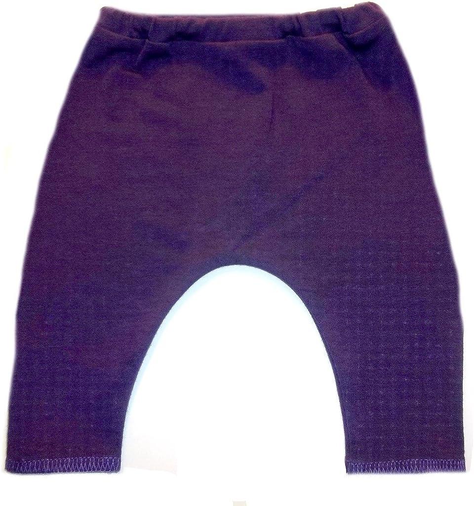 Made in The USA! Jacquis Baby Girls Purple Capri Leggings 6 Sizes