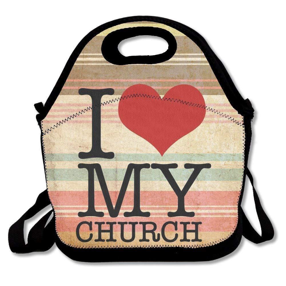 Amazon.com: Dozili I Love My Church Quotes Large & Thick ...