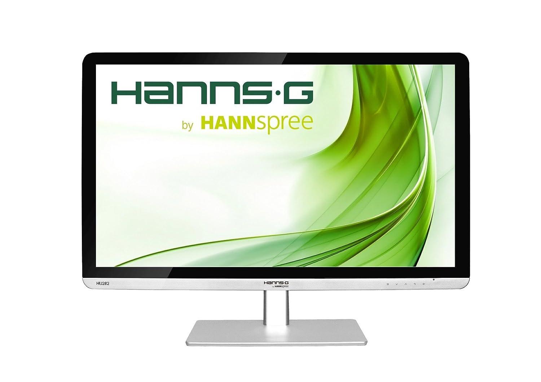 "Hannspree Hanns.G HU282PPS 28"" Silver,Black 4K Ultra HD LED display - PC  flat panels (3840 x 2160 pixels, LED, 4K Ultra HD, 3840 x 2160, 1000:1,  5000000:1): ..."