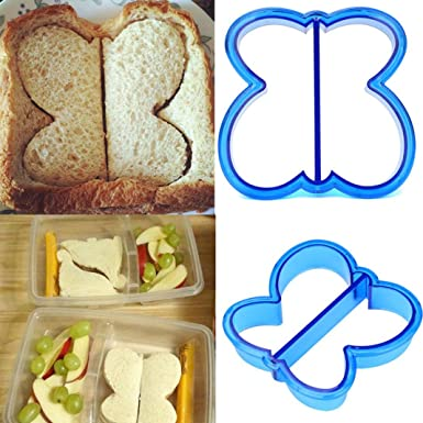 Lunch Kids Sandwich Toast Cookie Cake Bread Biscuit Food Cutter Mold Mould Q