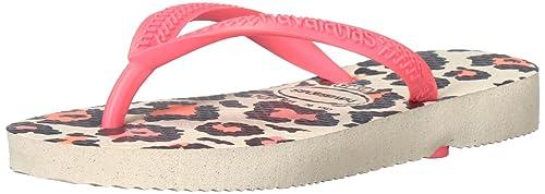 ee527cf2505e Havaianas Girls  Slim Animals Flip Flop Sandals