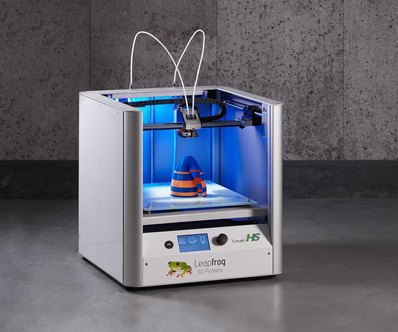 LeapFrog creatr HS impresora 3d, pla-abs: Amazon.es: Industria ...