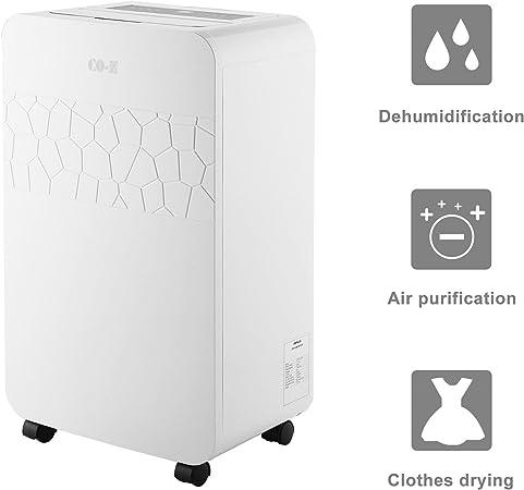 co-z electrónico portátil deshumidificador purificador de aire ...