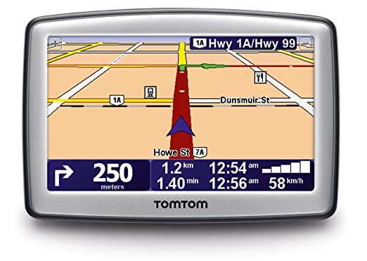 Tomtom Xl   Inch Portable Gps Navigator Box Packaging