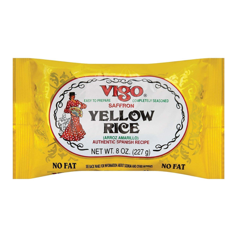 Vigo Amarillo Arroz, 8 onzas (Paquete de 12): Amazon.com ...