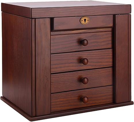 """Home Decorators Knot Jewelry Box 6.25/""""H x 13/""""W x 9/""""D Black MSRP $94.00"""