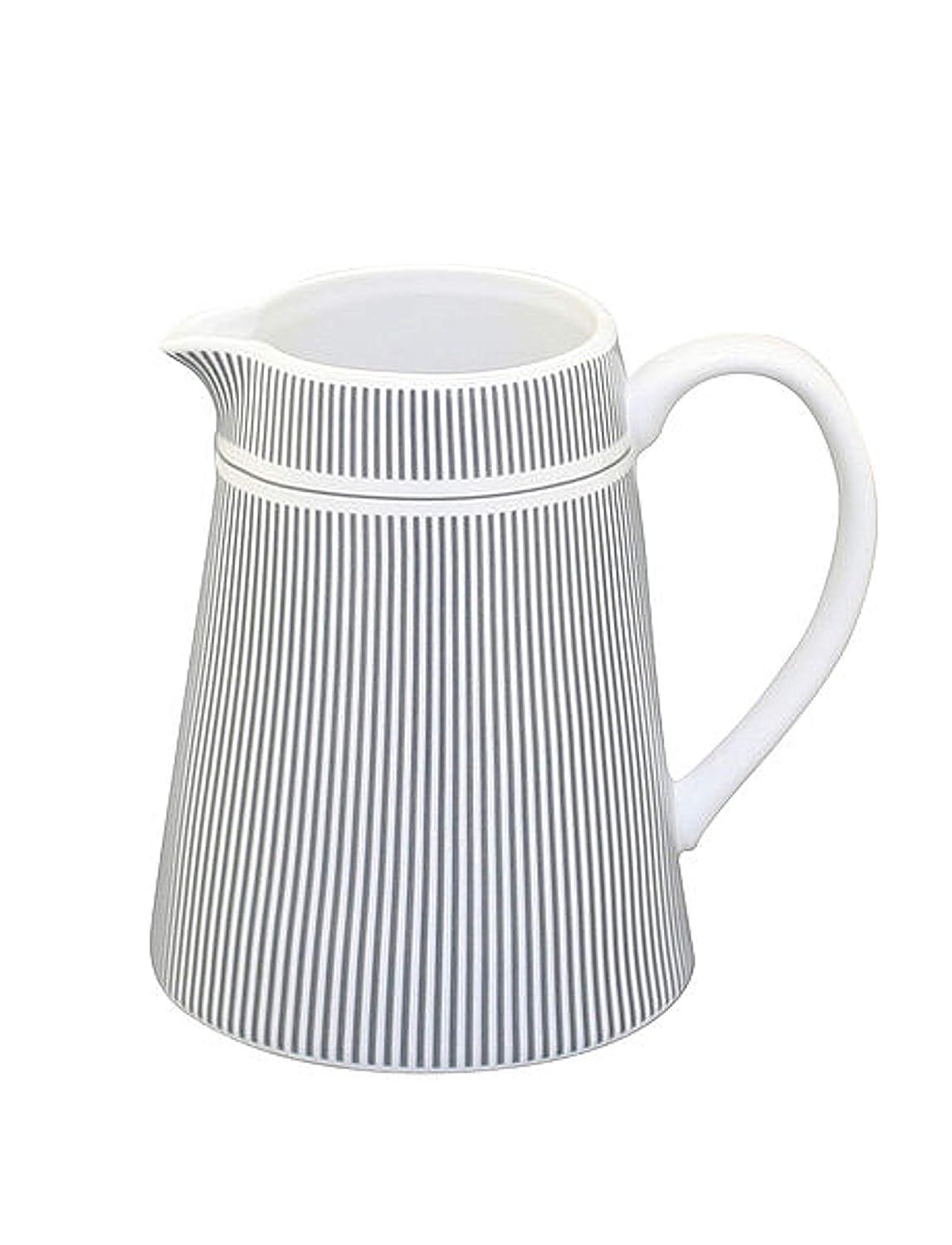 Krasilnikoff - Jarra para leche (fina), diseño de rayas, color ...