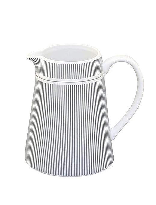 Krasilnikoff - Jarra para leche (fina), diseño de rayas ...