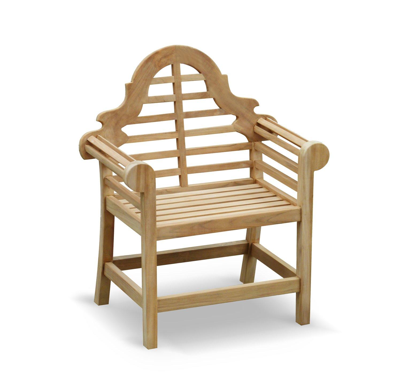 Jati Lutyens Garden Armchair FULLY ASSEMBLED in Premium grade sustainable teak Brand, Quality & Value